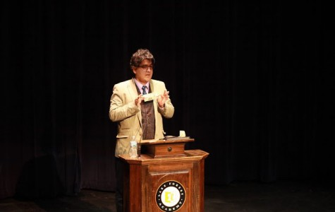 Renowned author Sherman Alexie visits LFA