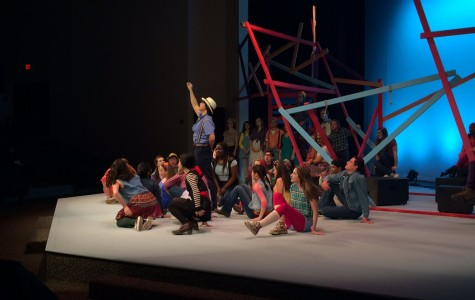 LFA students perform the musical Godspell