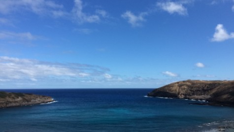 Hanuama Bay, a nature preserve reserved for snorkeling, is named after its curved outline.