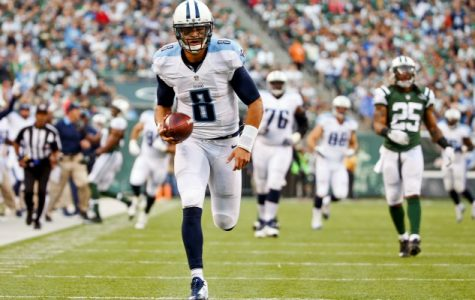 Marcus Mariota and the Tennessee Titans look to defeat the Jacksonville Jaguars and get back to .500 on the season. Photo courtesy of USA TODAY Sports.