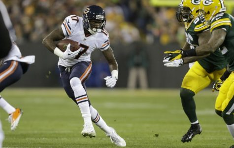 Alshon Jeffrey must impact this game for all 60 minutes if the Bears are going to beat the Packers.  Photo courtesy of WGN.