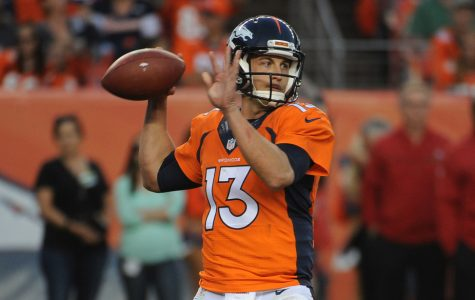 Trevor Siemian looks to maintain his play after throwing for 4 touchdowns in week 4.  Photo Courtesy of Denver Post.