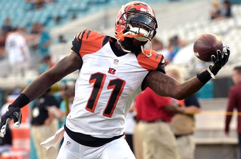 If AJ Green receives double teams by the Giants secondary, Brandon Lafell could end up having a big day.