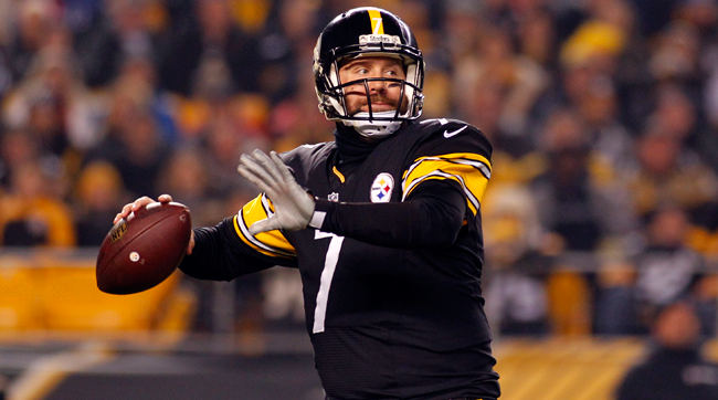Ben+Roethlisberger+will+need+to+throw+for+multiple+touchdowns+if+the+Steelers+are+going+to+come+out+with+an+upset+win.