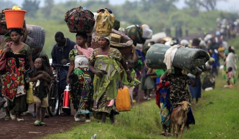 Congolese Refugees Escaping the DRC and Looking for Peace