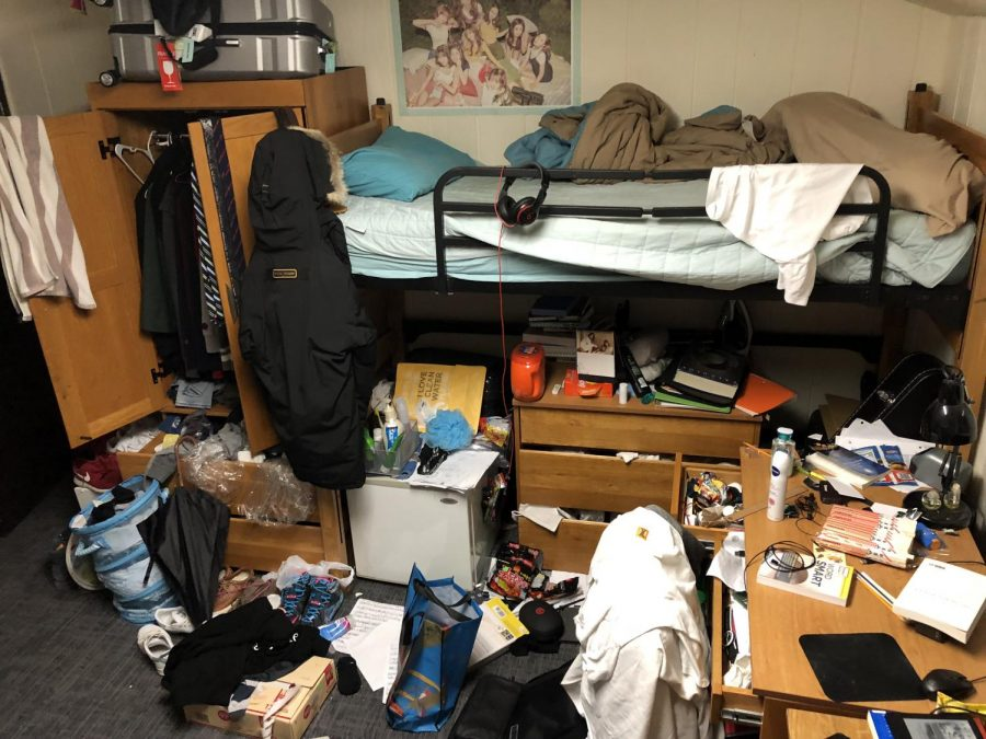 Amidst the busy academic atmosphere of LFA, dorm rooms tend to get messy as there is little time for cleaning