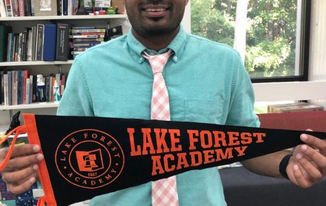 Lake Forest Academy's New Faculty Member