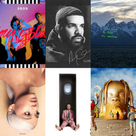 Ranking My Top Ten Albums of 2016