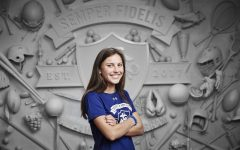 LFA's Anna Schilling given Semper Fidelis All-American Award and attends program in DC