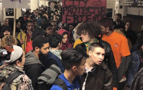 NYC protests: NYPD vs. subway riders