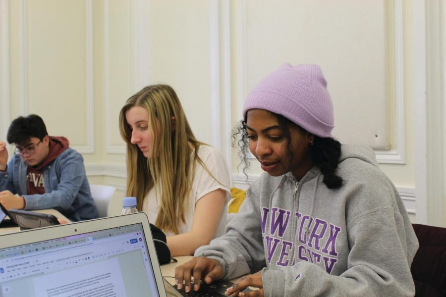 A Senior Capstone project for us all: How the Department of English Capstone Project will affect next year's seniors