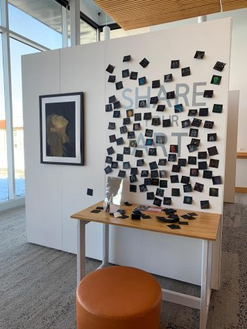 Student exhibits contribute to a growing presence of art at LFA