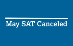 College board announces the cancelation of all May SAT tests via Twitter