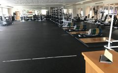 The weight room may be empty, but there are still plenty of ways to stay active.