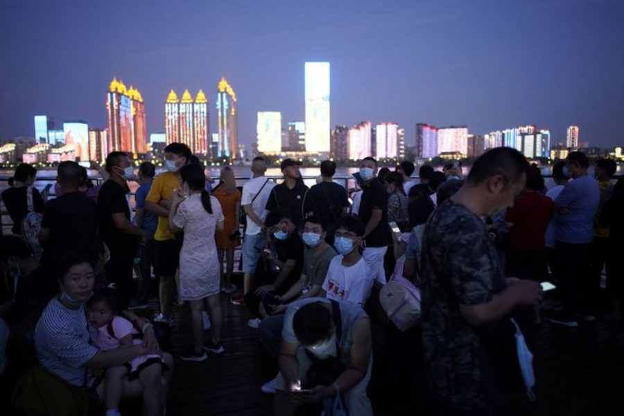 Chinese citizens experiencing Covid this August.