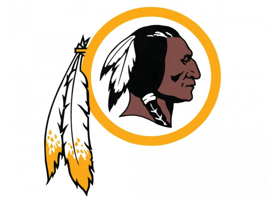 A look at the old mascot for The Washington Football Team.
