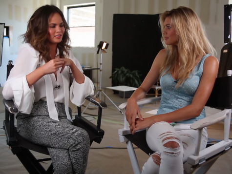 Chrissy Teigen discusses her battle with mental health issues with Kelly Rohrbach.