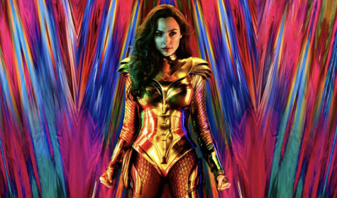 The poster for Wonder Woman 1984.