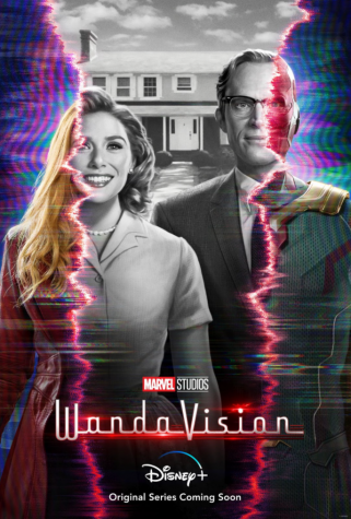 Wanda Maximoff, left, and Vision, right, are pictured on a promotional poster.